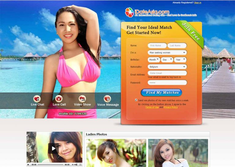New asian dating site